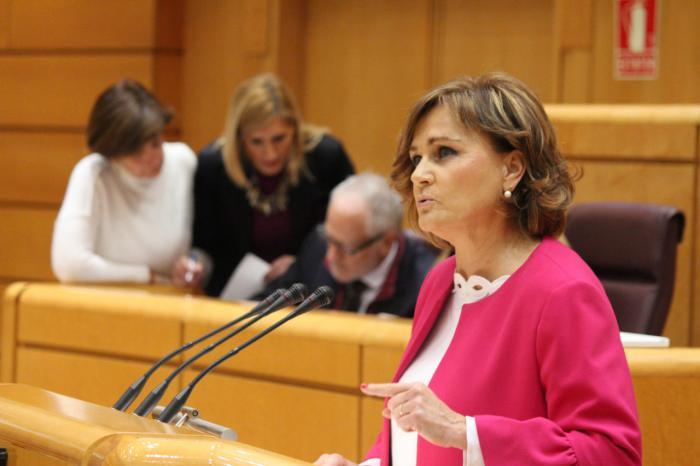 """Montserrat Martínez: """"El Partido Popular no quiere 17 sistemas educativos, ni 17 cuerpos docentes diferentes"""""""