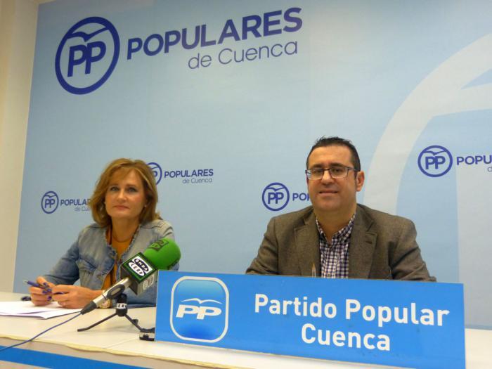 """Algaba: """"Lo antipatriótico y lo desleal hacia España y hacia Cuenca sería apoyar los Presupuestos de Sánchez y Podemos"""""""