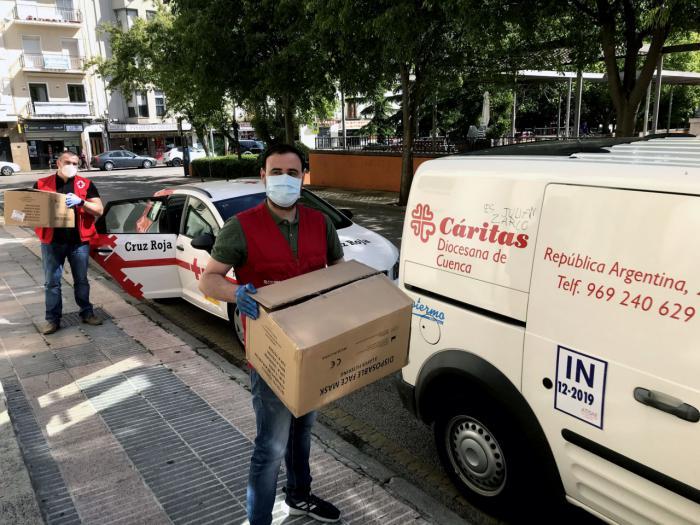 La Subdelegación del Gobierno finaliza la entrega de las 60.000 mascarillas facilitadas por el Gobierno de España