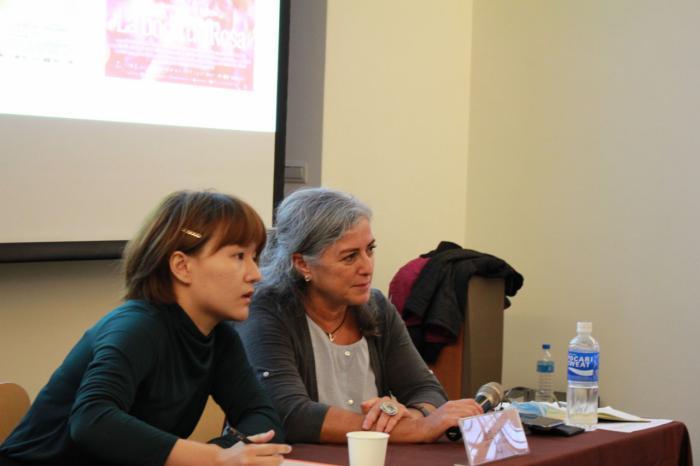 """Lidia Peralta: """"Es difícil ver en una pantalla cómo las mujeres interpretan el mundo"""""""