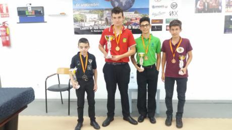 El Conquense Israel Ponce revalidó la medalla de bronce