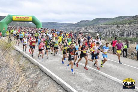 Javier Triguero y Almudena de la Ossa inscriben su nombre en la Media Maratón Ciudad de Cuenca