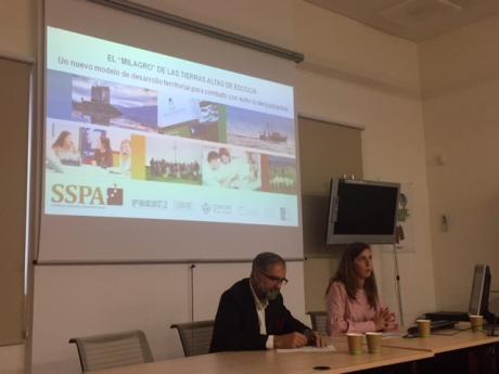La SSPA traslada sus propuestas para frenar la despoblación en una jornada que analiza este fenómeno en Valsaín