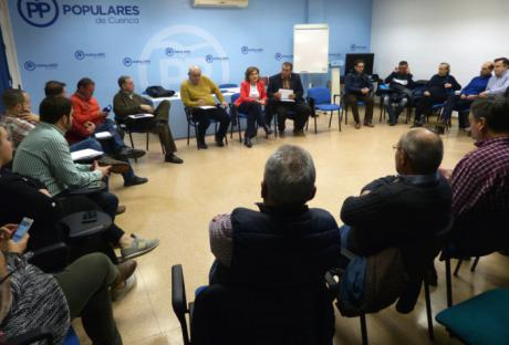 """El PP de Cuenca reitera su apoyo inequívoco al mundo rural """"frente a los constantes ataques del Gobierno de Page"""""""