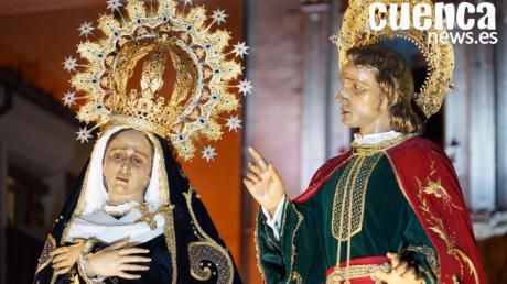 Nuestra Señora de la Amargura con San Juan Apóstol