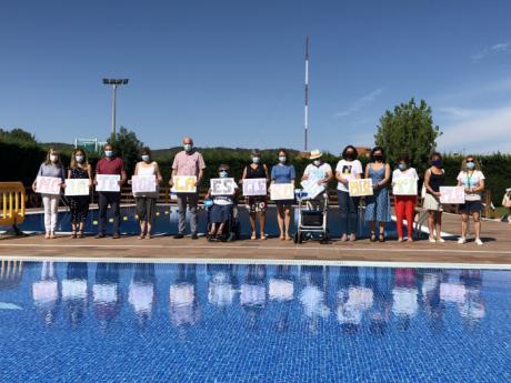 La recaudación de la piscina Luis Ocaña de hoy se destinará a la iniciativa solidaria 'Mójate por la Esclerosis Múltiple'