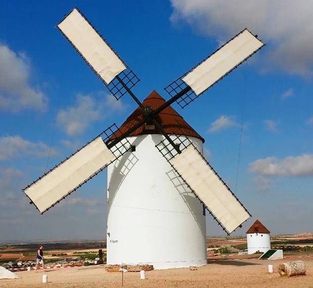 """El molino de viento """"El Gigante"""" volverá a ponerse en marcha este fin de semana"""