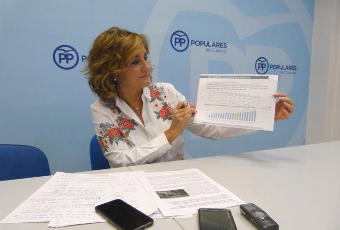 El PP denuncia que Page todavía debe a los colegios e institutos de Cuenca el 40% de los gastos de funcionamiento de 2018