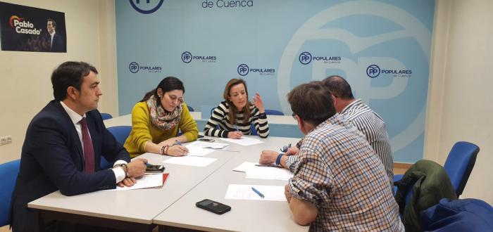 Navarro destaca el trabajo del PP-CLM contra la despoblación a través de reuniones con colectivos del mundo rural