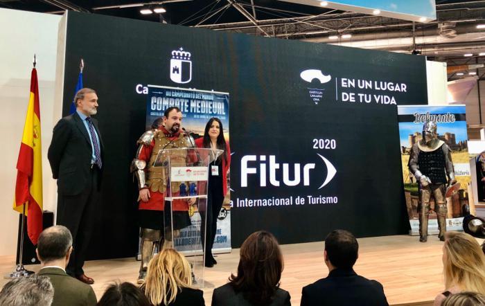 El Castillo de Belmonte presenta oficialmente en FITUR el Campeonato Mundial de Combate Medieval