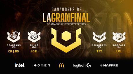 Finaliza la sexta edición de la Liga Amazon UNIVERSITY Esports con un premio para la UCLM