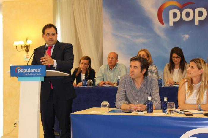 """Paco Núñez asegura que comienza una """"nueva era"""" en el PP-CLM liderando la oposición para ser la alternativa de Gobierno en el 2023"""