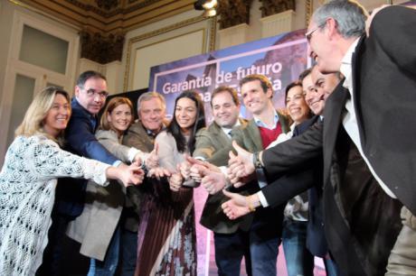 Casado cree que el PP tiene en Castilla-La Mancha un