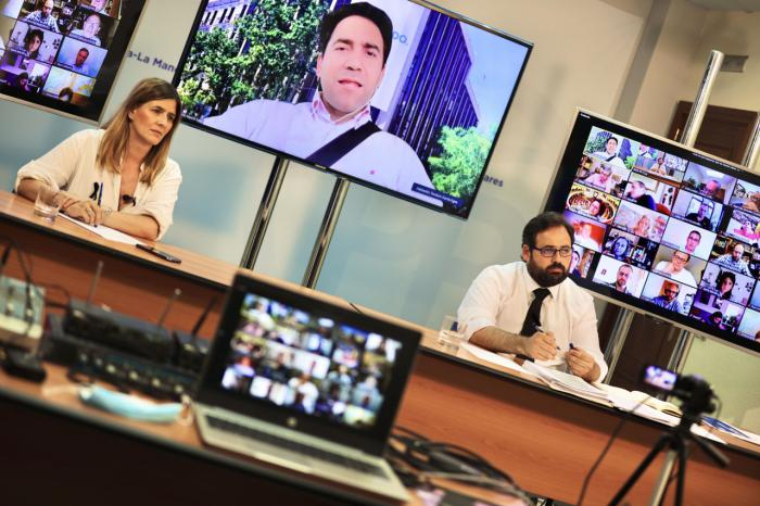 Núñez aplaude el trabajo de los alcaldes del PP en la pandemia de COVID-19