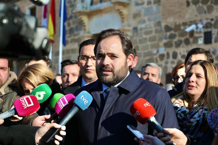 Paco Núñez , presidente del Partido Popular de Castilla-La Mancha
