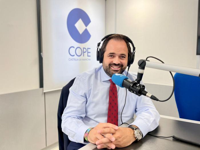 """Núñez defiende el proyecto alternativo del PP-CLM frente a un Page al que """"no le preocupan los problemas de Castilla-La Mancha"""" porque """"está aburrido y vive de espaldas a la región"""""""