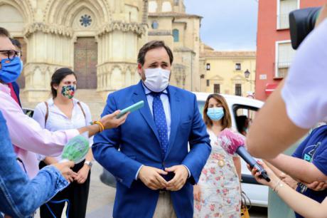 Núñez avanza que el PP propondrá la creación de una mesa de trabajo para potenciar la dinamización turística, comercial y hostelera de la ciudad de Cuenca en Ayuntamiento y Diputación