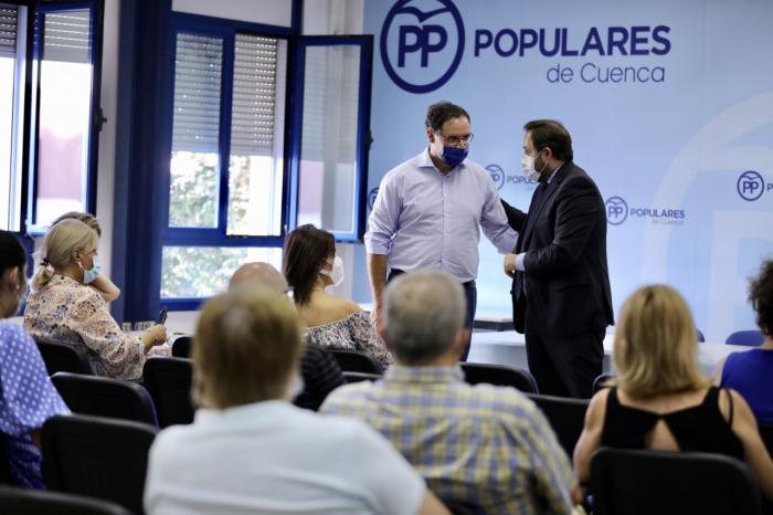 """Núñez incide en que Cuenca requiere de """"más atención"""" por parte de Page ya que hay un """"déficit claro"""" de inversiones y políticas de apoyo en la provincia"""