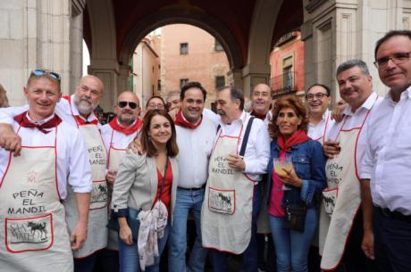 Paco Núñez asiste a las fiestas de San Mateo