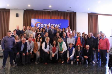 Paco Núñez mantiene un encuentro con los candidatos a las alcaldías de la provincia