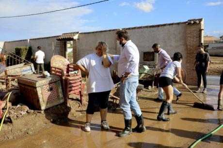 Núñez muestra la `disposición absoluta´ del PP para colaborar con el Gobierno regional y aprobar las medidas necesarias para los afectados por las tormentas