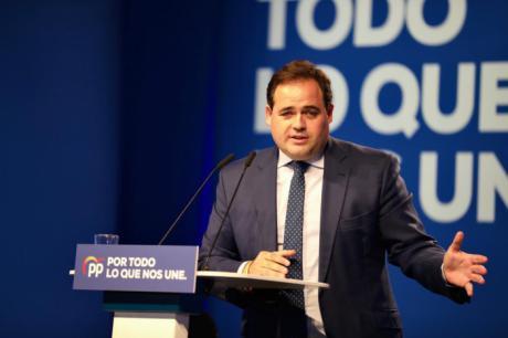 Núñez denuncia que Page respalda con su silencio cómplice la inacción de Pedro Sánchez en Cataluña