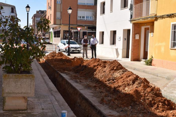 Tarancón efectúa mejoras en el alcantarillado de El Congo y destinará el POS 2020 al asfaltado y firme de este barrio