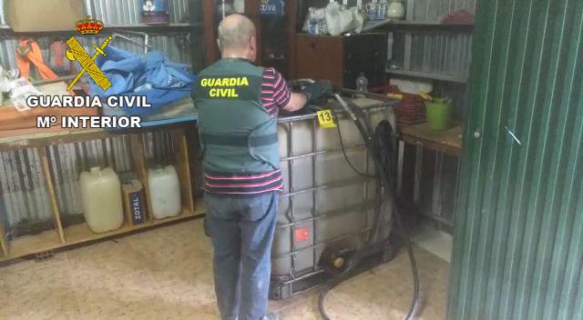 La Guardia Civil detiene a dos personas por robo continuado de hidrocarburo del Oleoducto Puallo