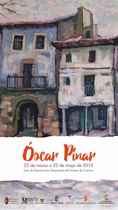 Muestra antológica de Óscar Pinar en la sala de exposiciones temporales del Museo de Cuenca