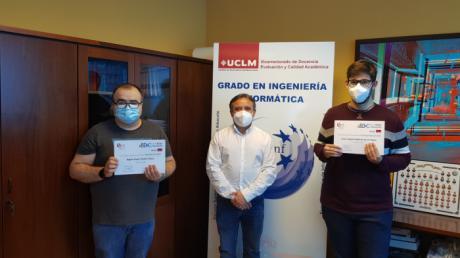 Fallados los premios Aula OESÍA-UCLM a los mejores trabajos fin de grado en Ciberseguridad y Big Data
