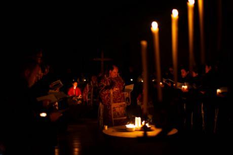 El Monasterio de Uclés revivió un año más la Semana Santa del siglo XVI en el 'Oficio de tinieblas'