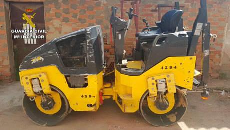 La Guardia Civil detiene a tres personas por robar maquinaria y herramientas valoradas en 330.000 €