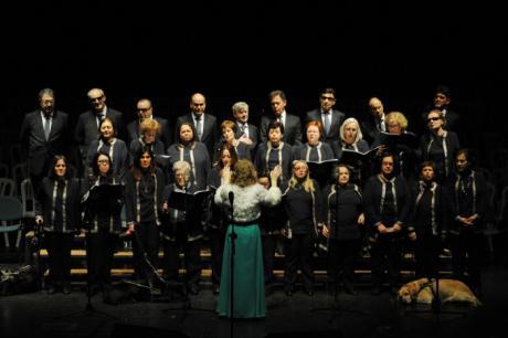 El Teatro-Auditorio acoge el próximo martes el concierto del Orfeón 'Fermín Gurbindo' de la ONCE