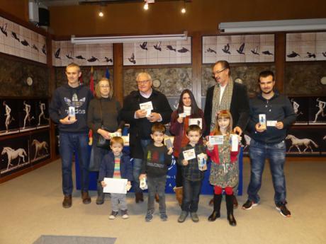 Entregado los premios a los ganadores del II Buscadores de Especies