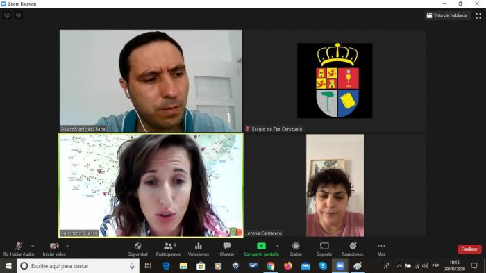 Martínez Chana ha felicitado a Parkinson Cuenca por el gran trabajo que están realizando durante la crisis del Covid-19