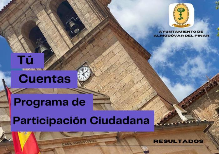 Almodóvar del Pinar finaliza con éxito el proceso de participación ciudadana para la mejora de los servicios que presta