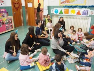 El taller de música del IES San José más infantil que nunca