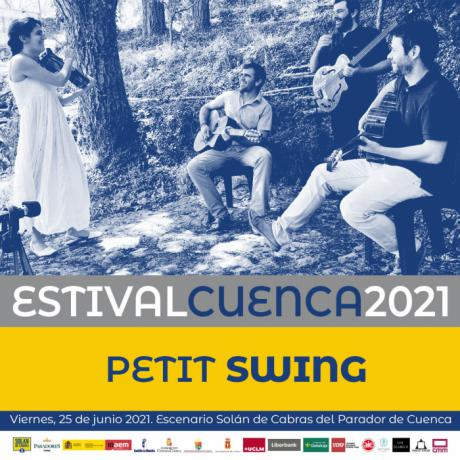 Verónica Ferreiro & Javier Sánchez y Petit Swing protagonistas musicales de las cenas-concierto de Estival Cuenca