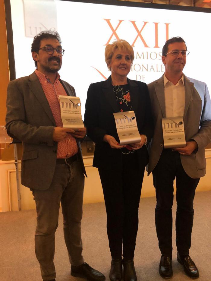 La UCLM, distinguida con la mejor traducción, colección y coedición en los XXII Premios Nacionales de Edición Universitaria