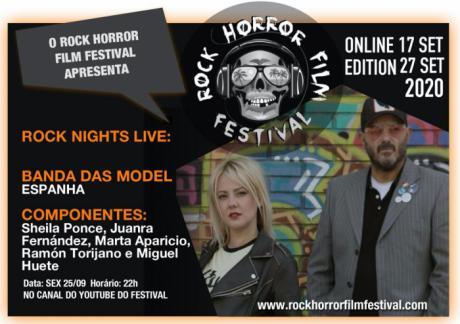 "El grupo conquense Das Model actuara en el festival ""Rock Horror in Rio"" de Río de Janeiro en Brasil"