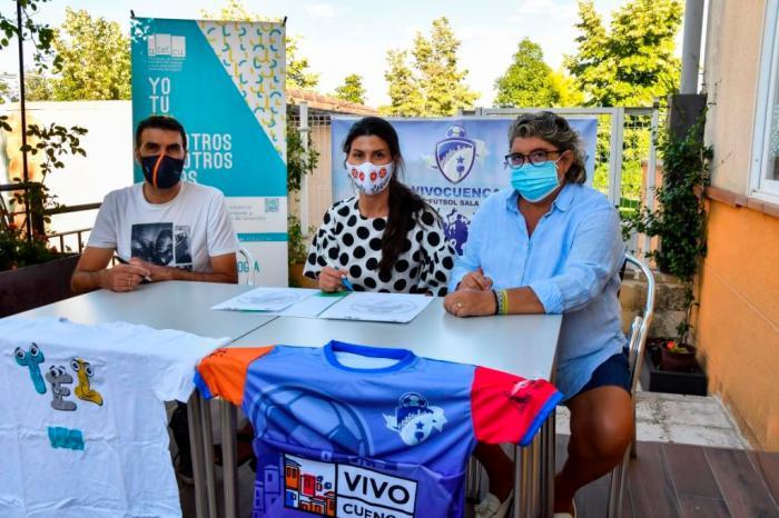 El F.S. VivoCuenca donará el importe de su taquilla a ATELCU