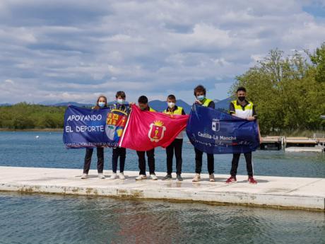 Brillante actuación de las jóvenes promesas del Club Piragüismo Cuenca con Carácter en Celebrado en Bañolas