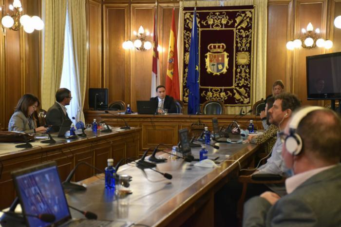 Pleno telemático de la Diputación Provincial