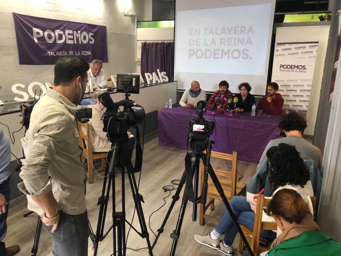 PODEMOS CLM y Extremadura se unen para reivindicar un tren digno para ambos territorios.