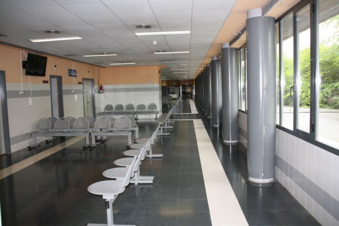 Sala de espera del Policlínico Virgen de la Luz