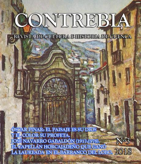"""Nuevo número de la revista de cultura e historia de Cuenca """"Contrebia"""""""