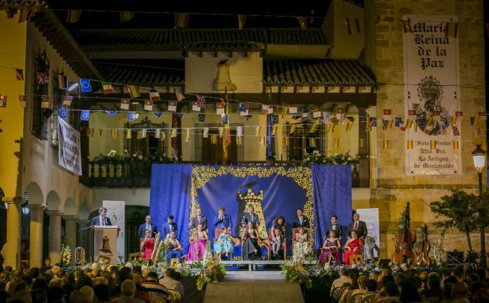 El pregón de Julio Villaescusa y la coronación e imposición de bandas a la reina y su corte de honor dan inicio a las Fiestas 2019 de Mota del Cuervo