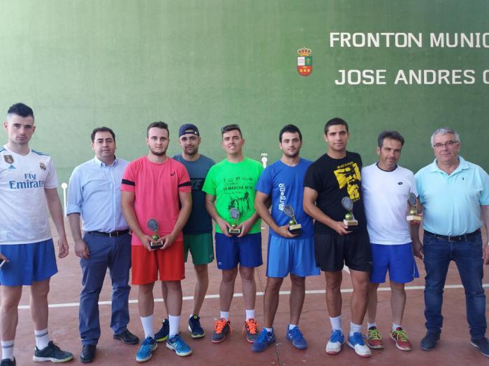 Intenso fin de semana del XI Circuito de Frontenis con tres pruebas en Tinajas, Villalba del Rey y Villanueva de la Jara