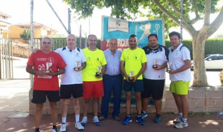 Villar de Olalla y El Peral disfrutaron de una nueva jornada del XI Circuito de Frontenis Diputación de Cuenca 2018