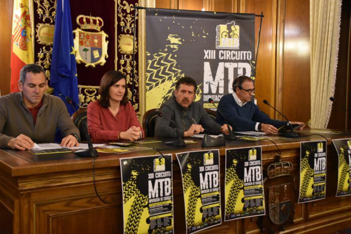 La Diputación presenta el XIII circuito de MTB con una prueba más y muchas novedades para aumentar la participación